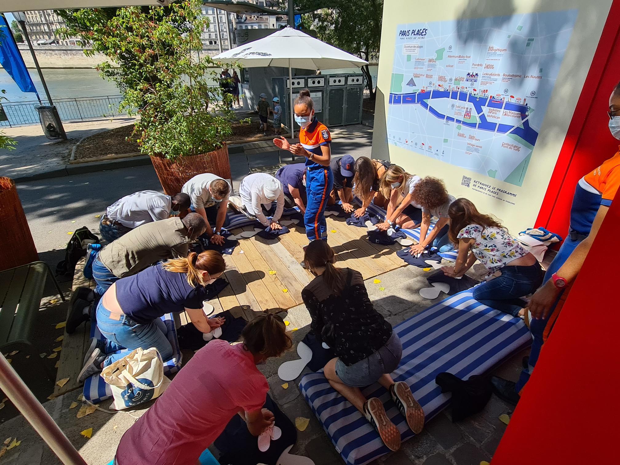 Devenez Ambassadeurs des Gestes qui Sauvent (Trocadéro) Jardins du Trocadéro Paris