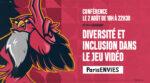 Diversité et inclusion dans le jeu vidéo Level 256 | Paris&co Paris