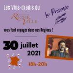 Les Vins-dredis du Domaine de Rocheville Domaine de Rocheville Parnay