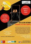 Spectacle Cie Aller Retour - Journal de nos corps Espace Culturel La Berline Champclauson