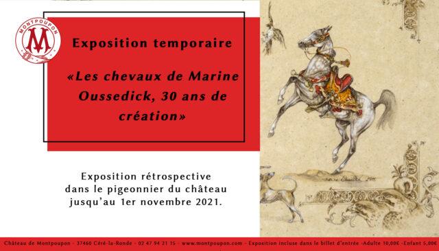 """Exposition """"les chevaux de Marine Oussedik"""