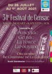 Festival de Musique de Chambre de l'Orchestre de Chambre de la Gironde Gensac