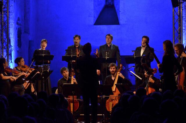 FESTIVAL DES ABBAYES : ELOQUENTIA...CANTATES DE WEIMAR PAR ALIA MENS Moyenmoutier   2021-07-30