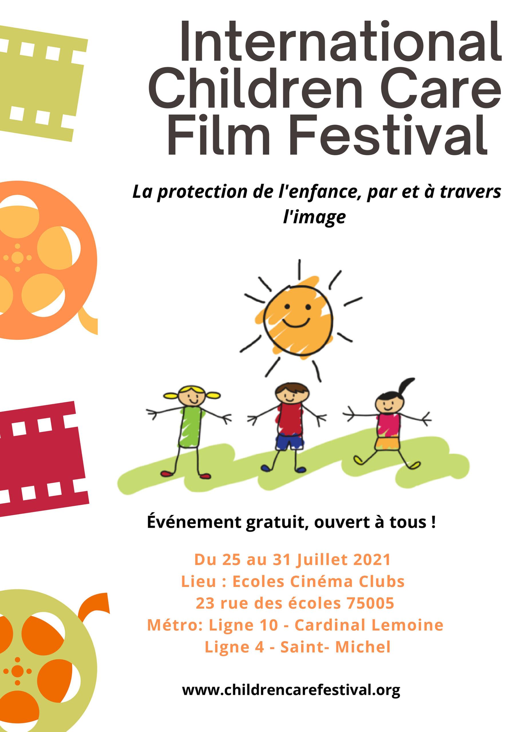 Festival du Film pour la Protection de l'Enfance Ecoles Cinéma Club Paris