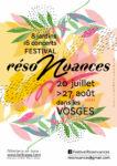 FESTIVAL 'RÉSONUANCES ' AU JARDIN DE BONNEGOUTTE Cornimont