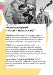 FESTIVAL RÉSONUANCES AUX JARDINS DE BERNADETTE Vagney
