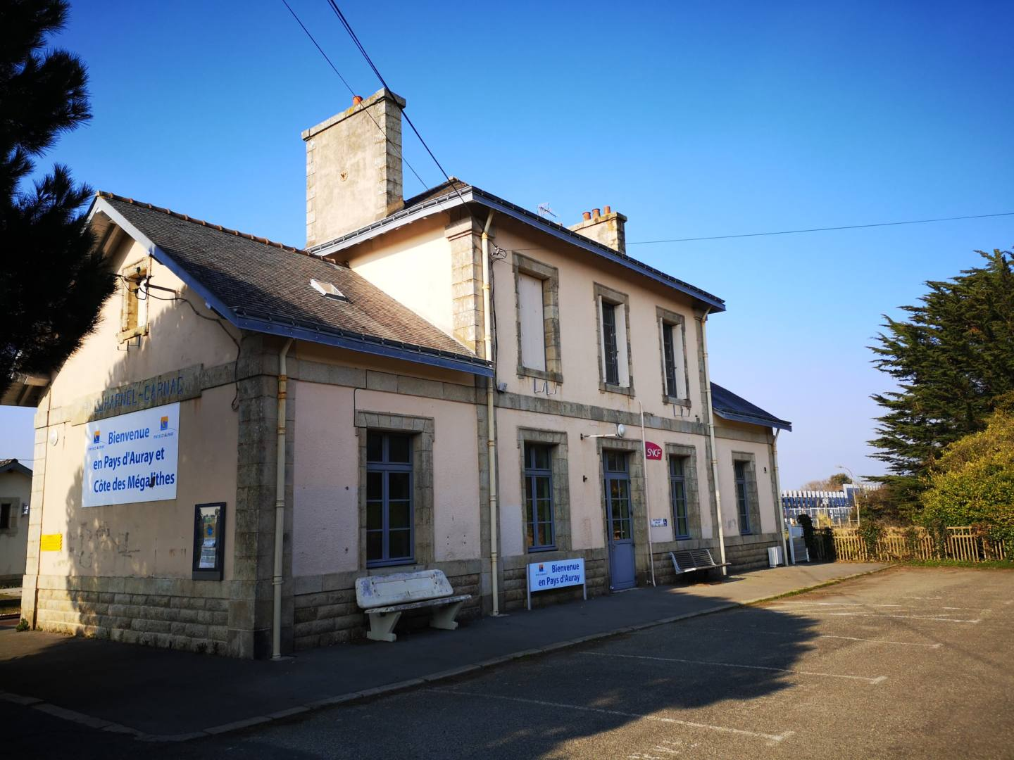 gare plouharnel carnac hello rivages