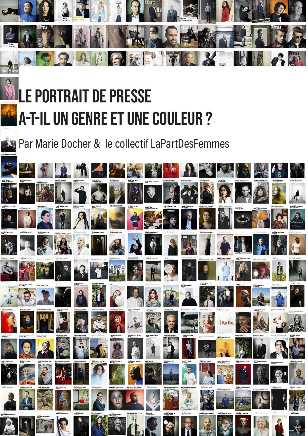 Le portrait de presse a-t-il un genre ou une couleur ? Médiathèque Edmond Rostand Paris