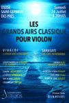 Les Grands Airs Classique pour Violon Eglise Saint Germain des Prés Paris