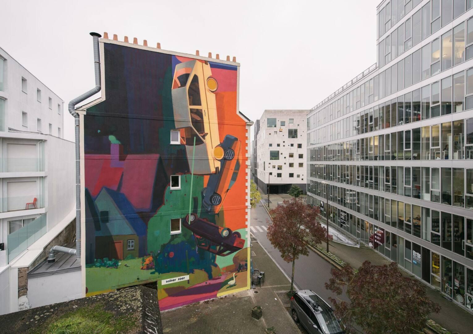 DEHORS ! AVEC LA BIENNALE D'ART URBAIN TEENAGE KICKS