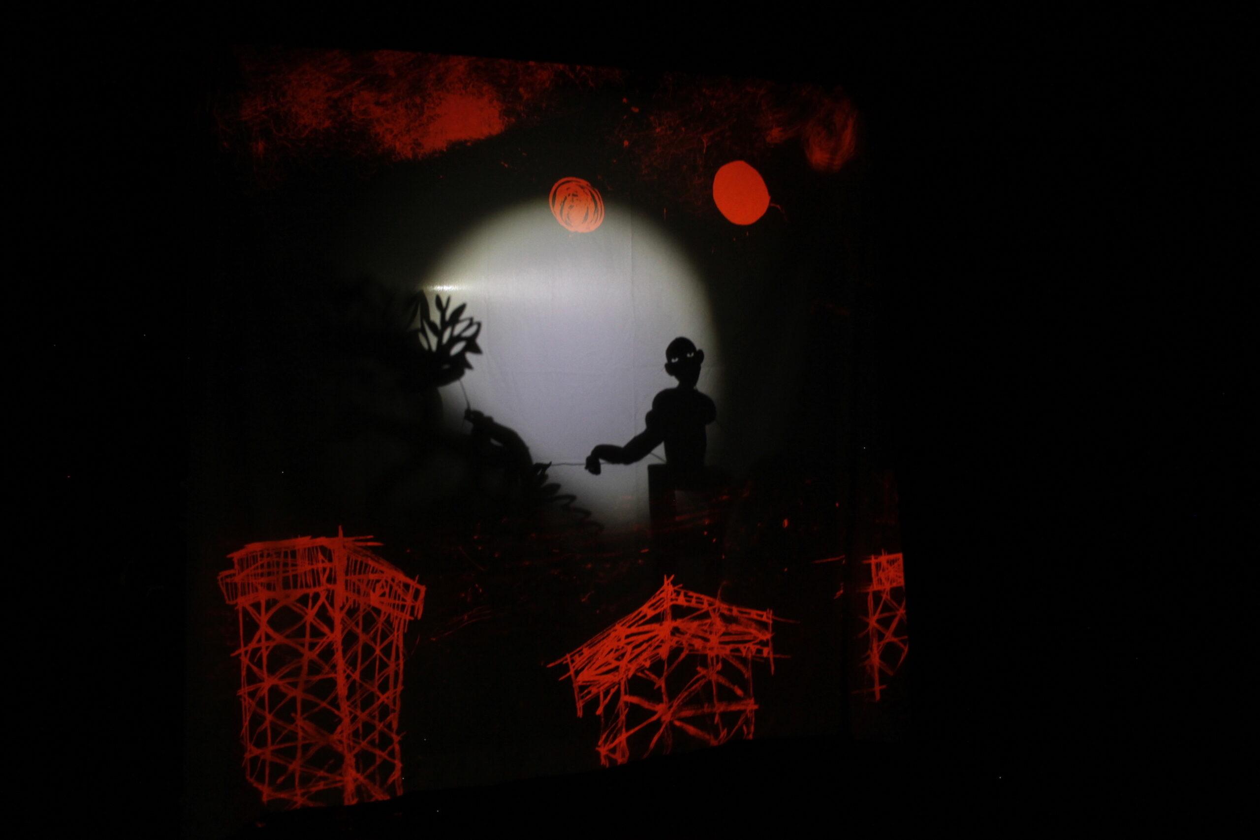 Théâtre d'ombres Tarakeeb et atelier jeunesse Médiathèque Marguerite Duras Paris