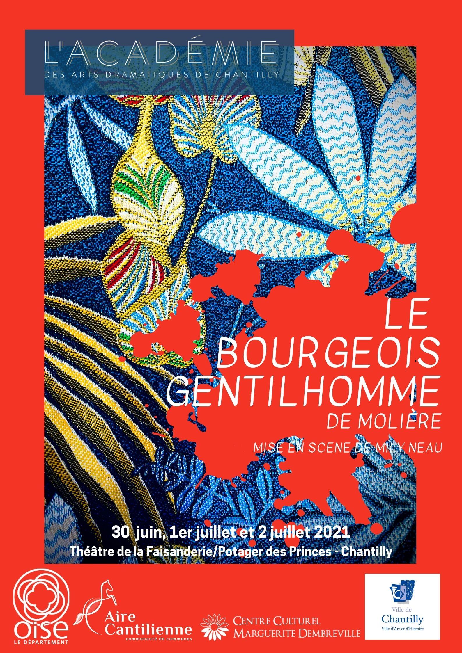 """Théâtre """"Le Bourgeois gentilhomme"""" Chantilly"""