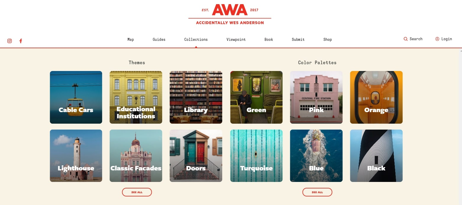 ACCIDENTALLY WES ANDERSON : PHOTOS DE LIEUX INSOLITES
