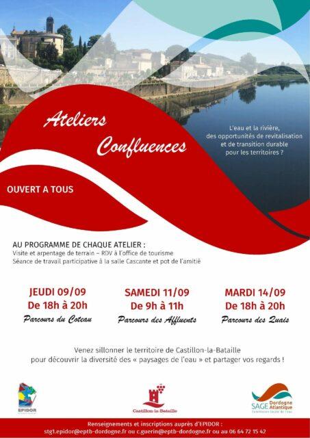 Ateliers confluences Castillon-la-Bataille