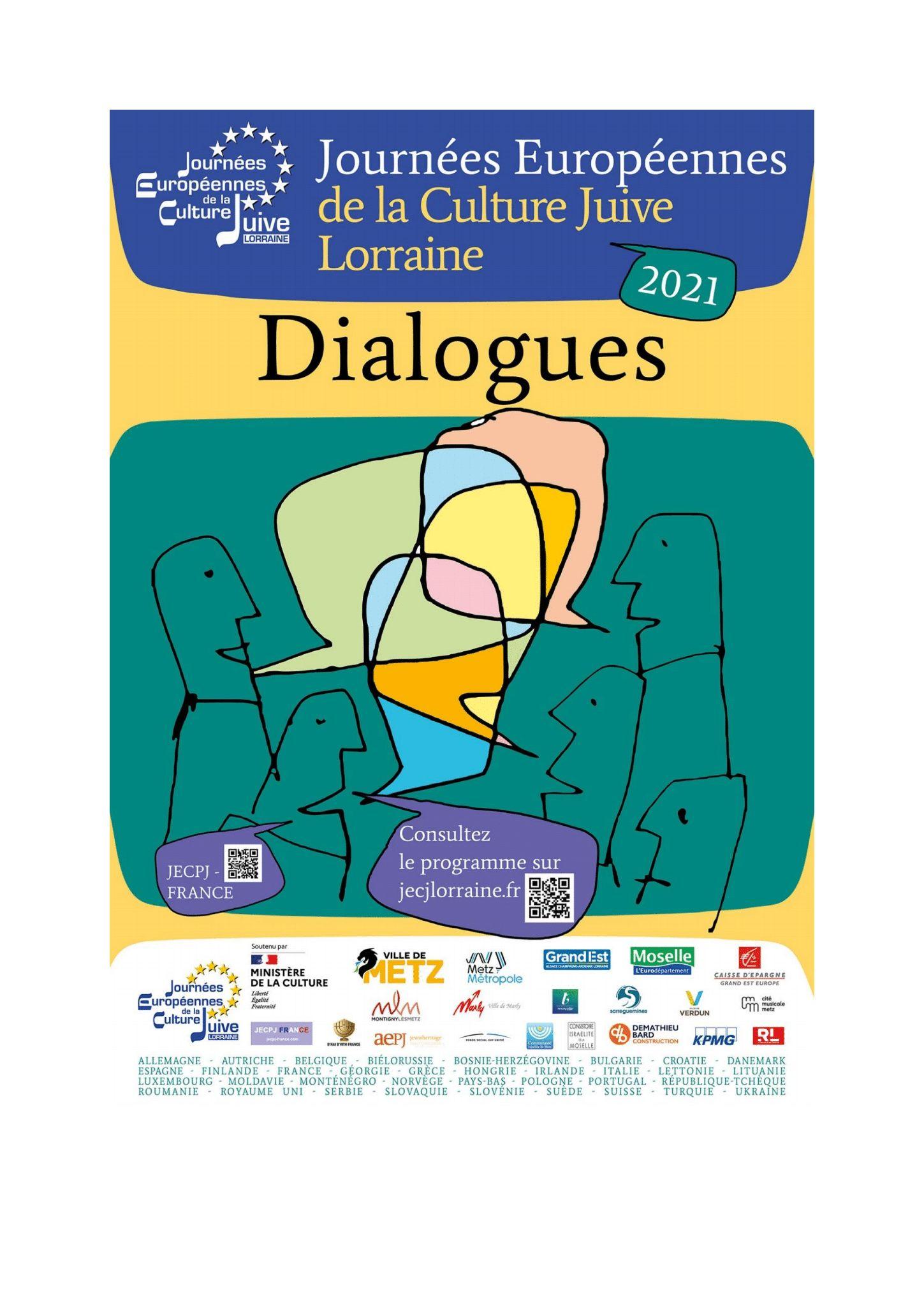 COLLOQUE - «DIALOGUES» Metz   2021-11-14