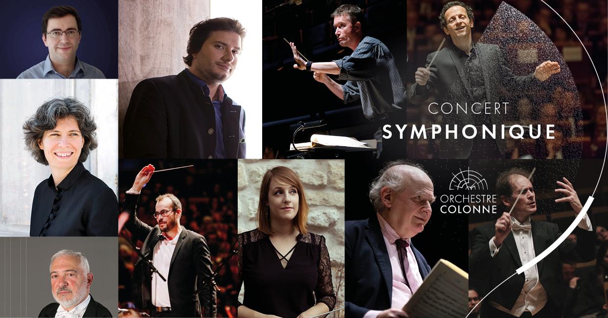 Concert symphonique   Les Curiosités d'un grand voyageur Salle Colonne Paris