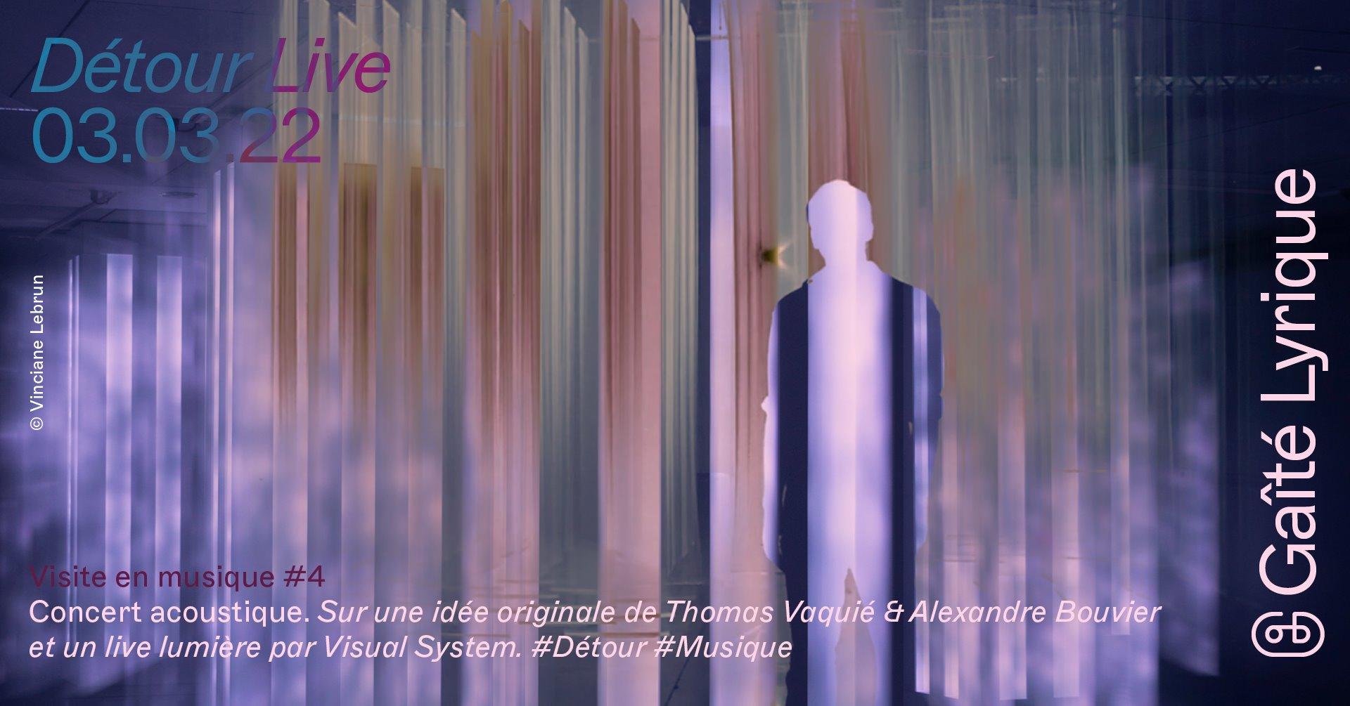 Détour : visite en musique #4 La Gaîté Lyrique Paris