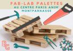 Fab-Lab Palettes Bibliothèque Benoîte Groult Paris