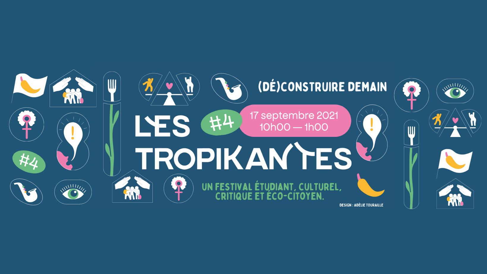 Festival Les TroPikantes #4 - (Dé)Construire Demain Jardin d'Agronomie tropicale de Paris Paris