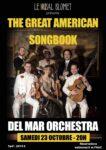 GREAT AMERICAN SONGBOOK – DEL MAR ORCHESTRA LE BAL BLOMET Paris