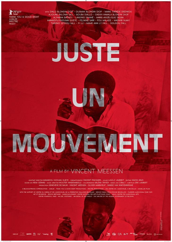 Juste un mouvement  de Vincent Meessen Cinéma du Centre Wallonie-Bruxelles