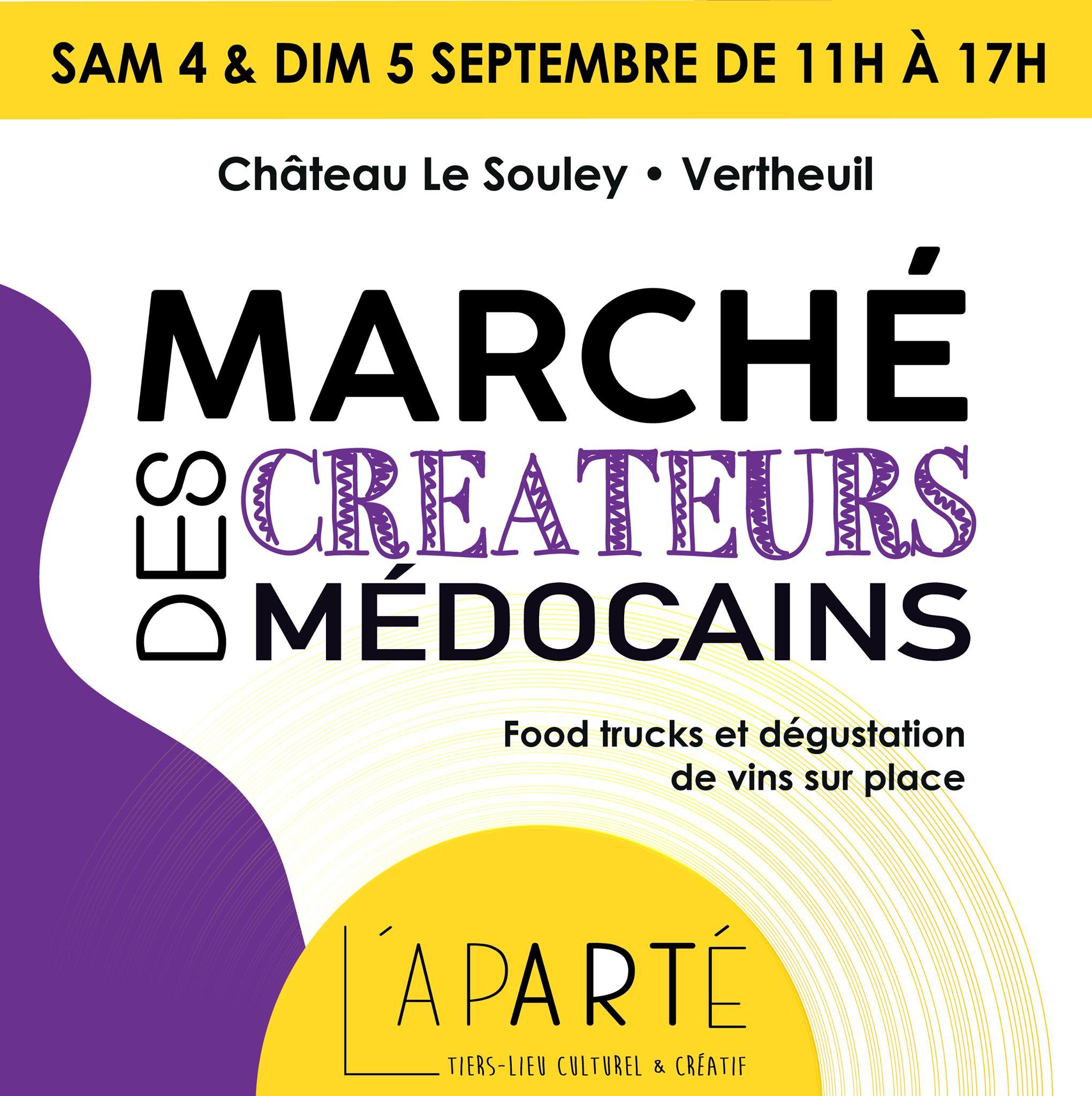 Marché des créateurs Médocains Vertheuil