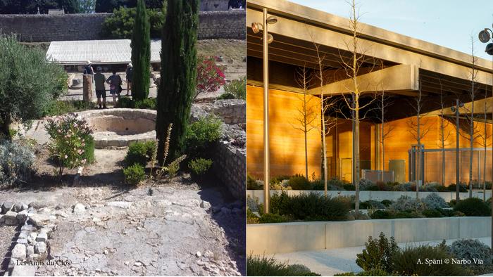 Archéo-nomade : la maison romaine et le Clos de la Lombarde Musée Narbo Via