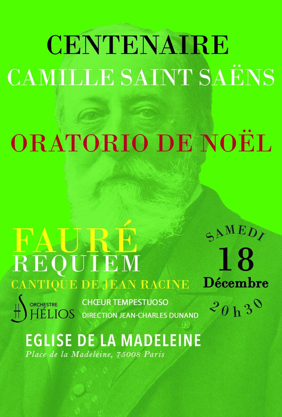 Oratorio de Noël de Camille Saint-Saëns