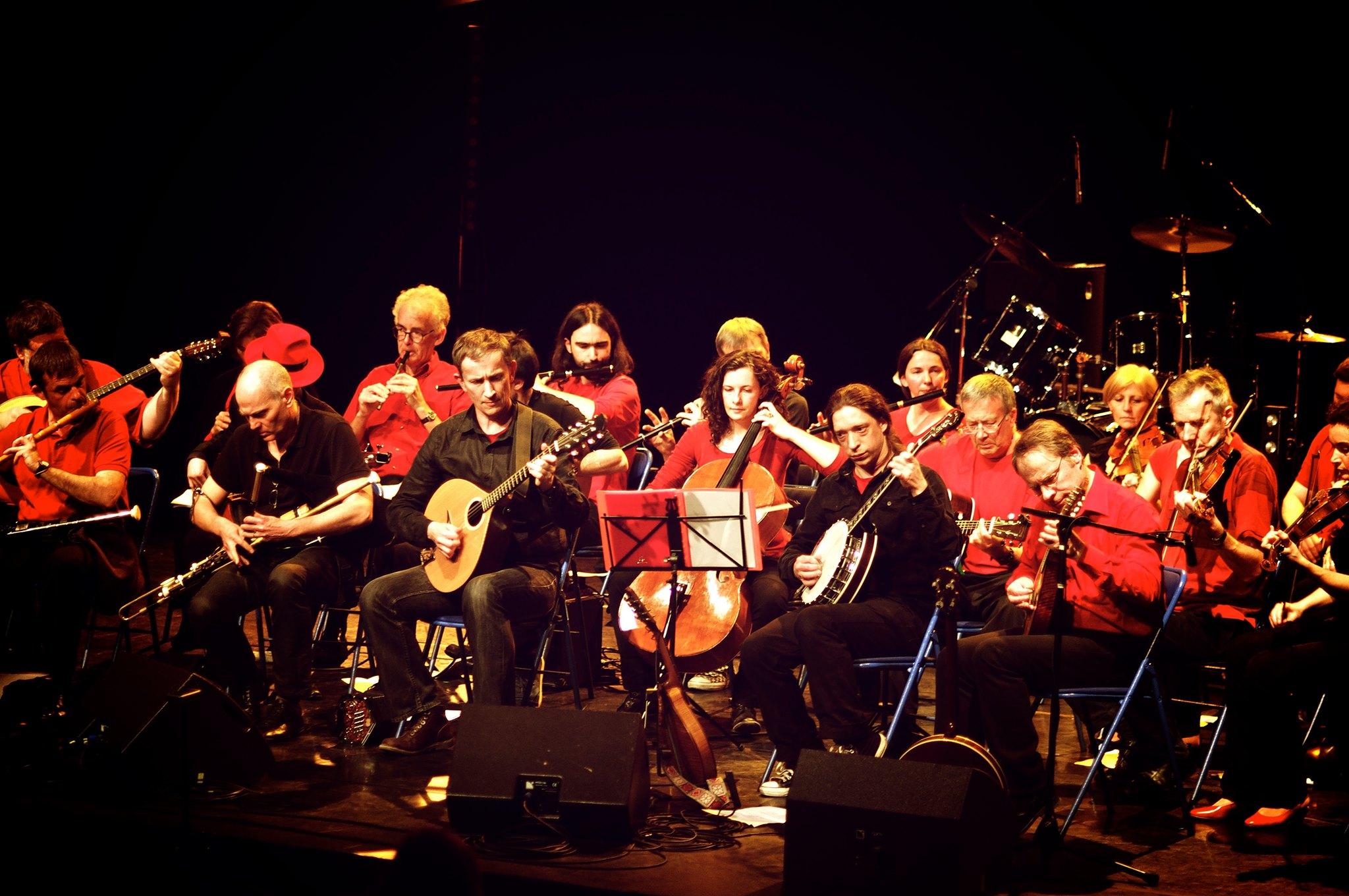 Orchestre de Musique Irlandaise de Paris (OMI) Square du Temple - Elie-Wiesel Paris