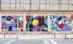 Performance d'art urbain : Perrine Honoré Le Mur Oberkampf Paris