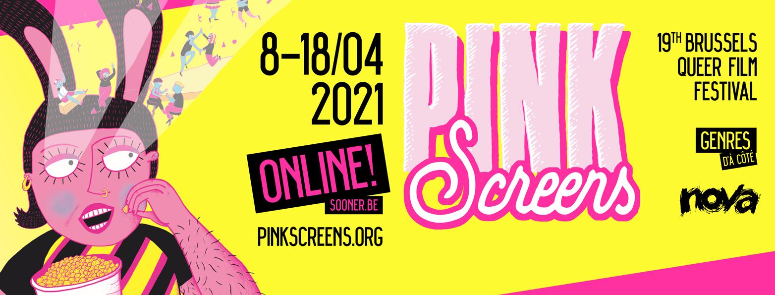 Pink Screens Films Festival Cinéma du Centre Wallonie-Bruxelles