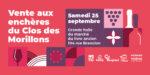VENTE AUX ENCHERES DU VIN DU CLOS DES MORILLONS Marché du livre ancien et d'occasion Georges Brassens Paris