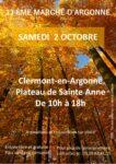 13EME MARCHÉ D'ARGONNE Clermont-en-Argonne   2021-10-02