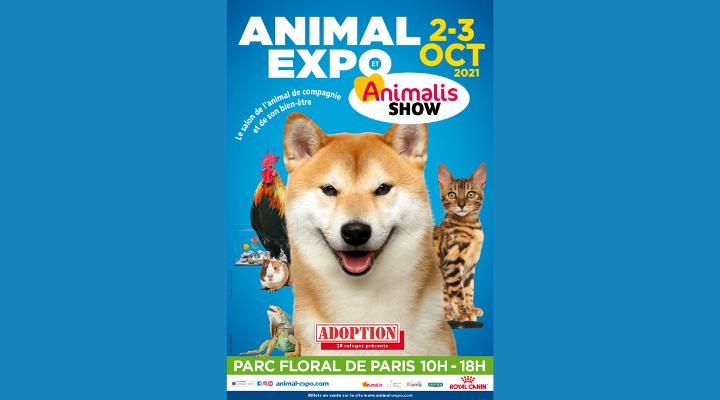 ANIMAL EXPO & ANIMALIS SHOW 2021 Parc Floral de Paris