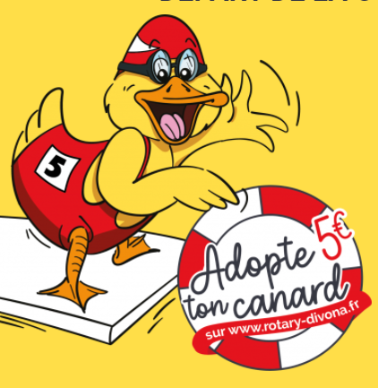 ** ANNULEE & REMPLACEE par un Tirage au Sort** Duck Race Rotary Club Divona Cahors Cahors   2021-09-26