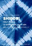 Ateliers Shibori Bibliothèque Jacqueline de Romilly Paris