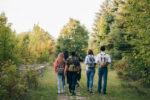 Bain de forêt entre amis Vieux-Moulin