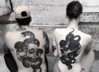 carbone quatorze tatouage