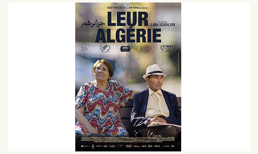 Cinéma Leur Algérie de Lina Soualem L'Institut du Monde Arabe Paris