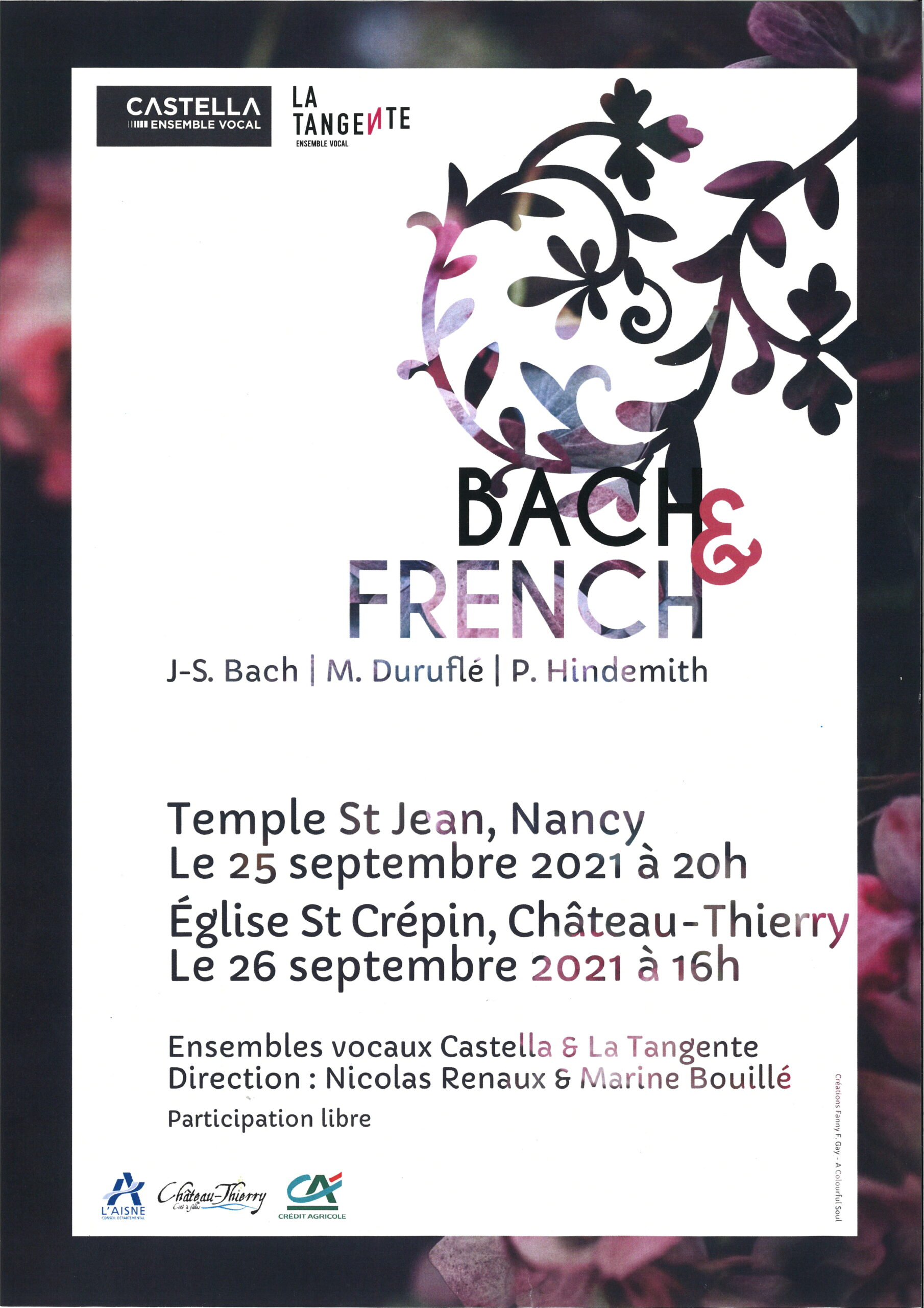 CONCERT :Bach & French Château-Thierry   2021-09-26