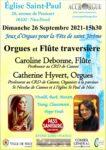 Concert Orgues et Flûte traversière eglise Saint Paul Nice