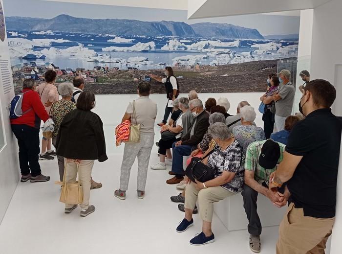 Visite guidée du musée des mondes polaires Espace des Mondes Polaires