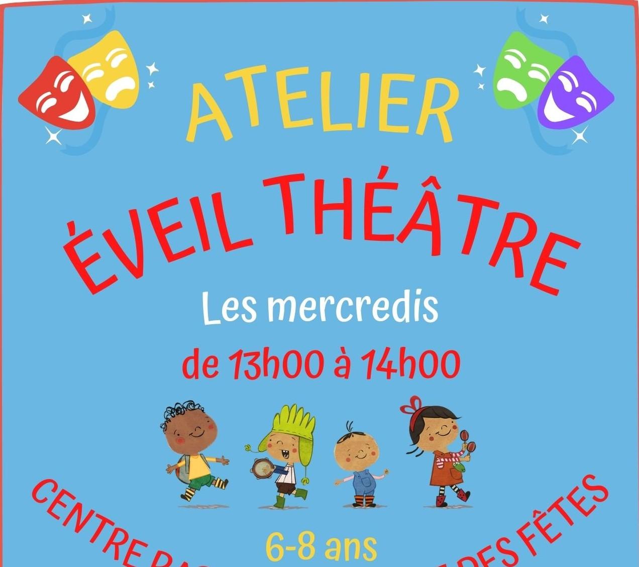 Eveil Théâtre Centre Paris Anim' Place des fêtes Paris