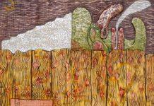 Exposition Mime La Criee Affiche Paul Collins Mathis Collins