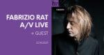 Fabrizio Rat A/V live + guest Petit Bain Paris