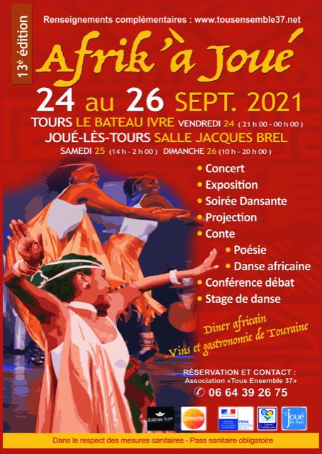 Festival Afrik'à Joué Joué-lès-Tours   2021-09-25