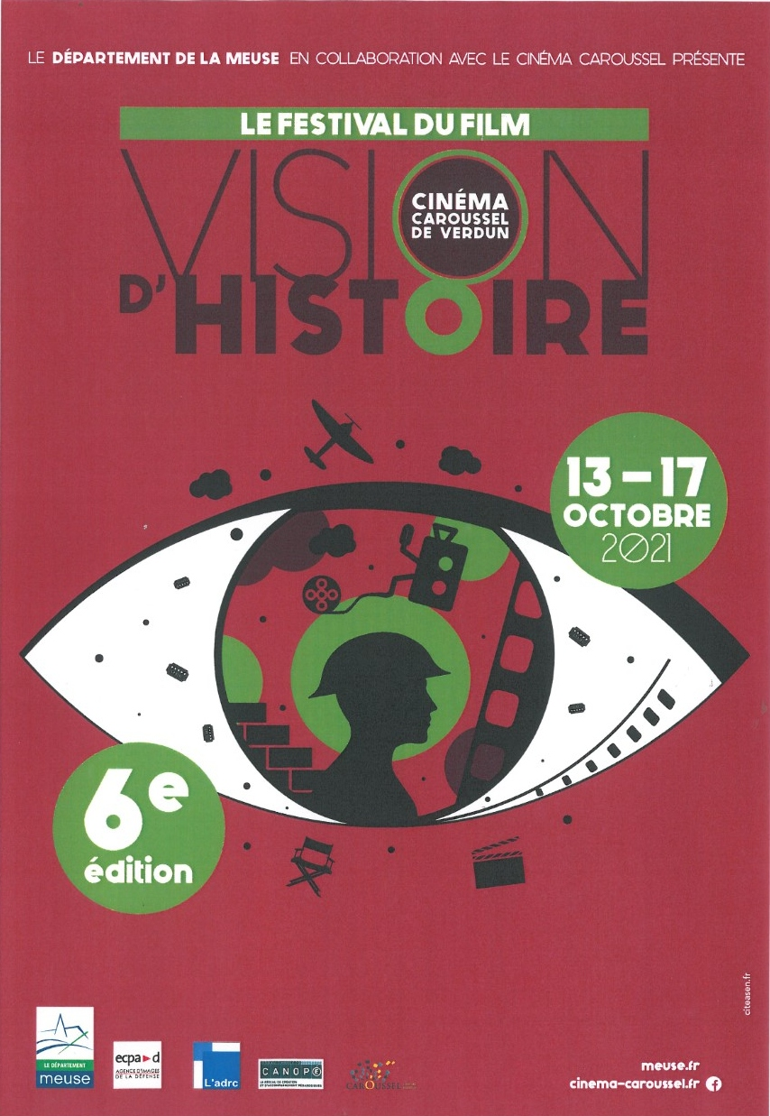 FESTIVAL DU FILM 'VISION D'HISTOIRE' Verdun   2021-10-13