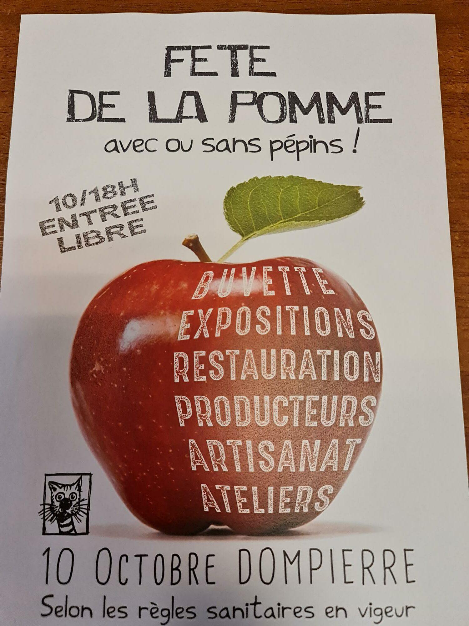FÊTE DE LA POMME Dompierre   2021-10-10