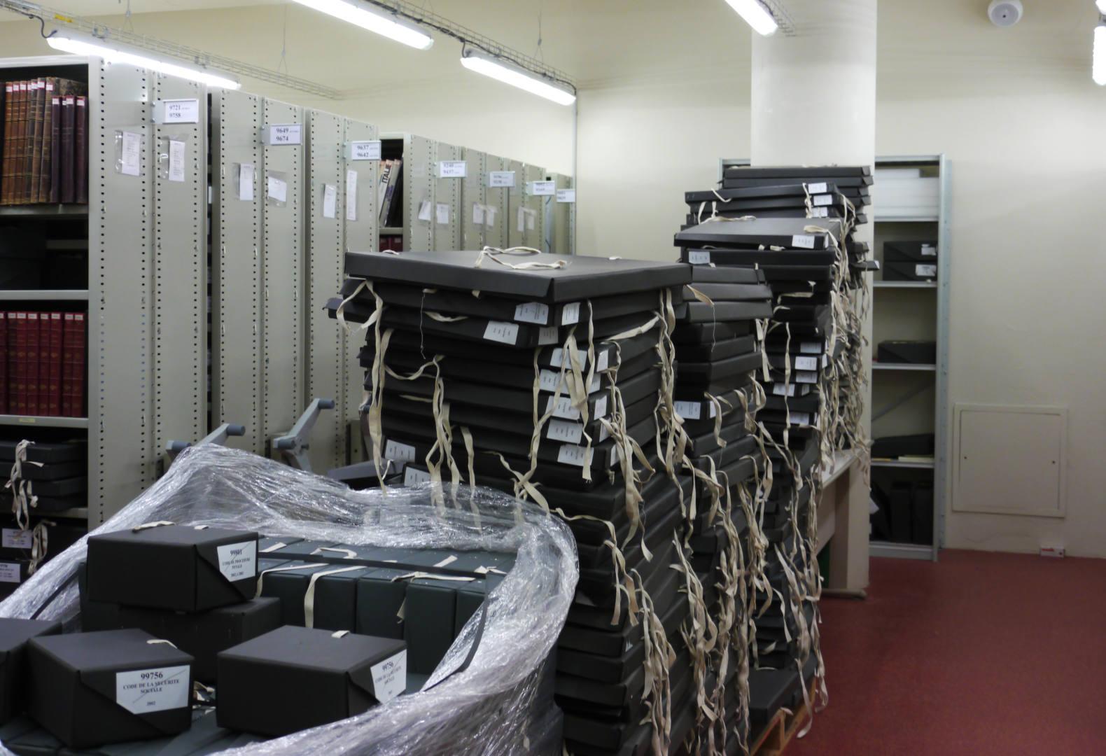 bibliothèque des champs libres collections