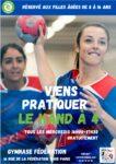 HAND 4 ELLES Gymnase Fédération Paris